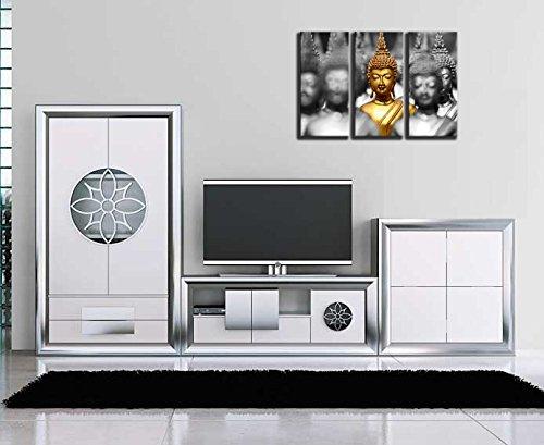 Cuadro Moderno fotografico base madera, 97 x 62 cm, Buda Buddha, Relajacion, Relax, Zen ref. 26215 4