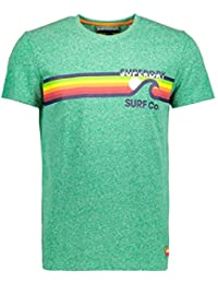 Superdry Camisetas M10012XQ OU7 Surf Co Stripe Te