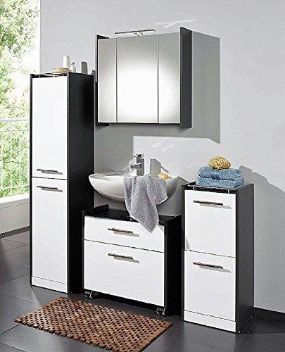 Waschtischunterschrank Gäste Wc galdem waschbeckenunterschrank elegance mit 2 schubladen und