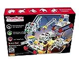 Metallbaukasten Bausatz 5 Modelle / 5-in-1 / Baufahrzeuge Baustelle Bagger LKW 243 Teile 4-farbige Aufbauanleitung mit Werkzeug Kind ab 8 Jahren Starter Set Multibaukasten Multi-Model Tronico