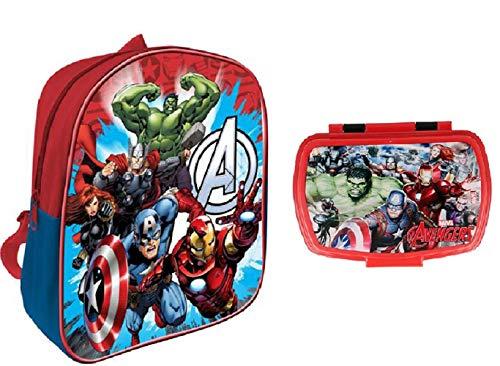 Avengers Rucksack + Avengers Snackbox
