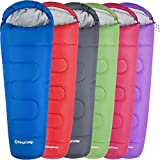KingCamp Trek 300 3-4 Season Senior Mummy Sleeping Bag for Kids & Adults