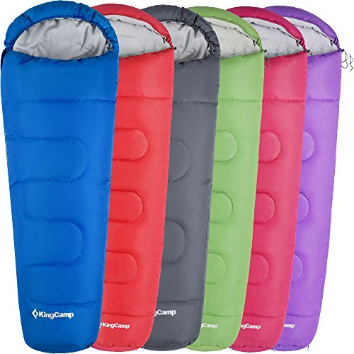 KingCamp Trek 3-4 Season Mummy Sleeping Bag Doble