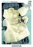 Sirdar Snuggly DK Baby Knitting Pattern 3108