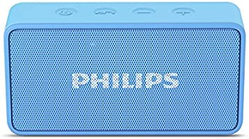 Philips BT64A Portable Bluetooth Speakers (Sky Blue)
