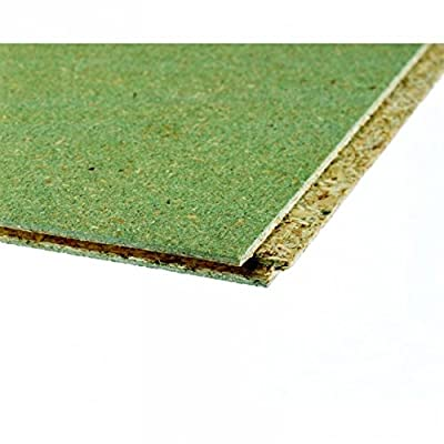 Chipboard Flooring P5 Tongue And Groove 4 Sides Moisture Resistant 18mm - [free Delivery Above £50]