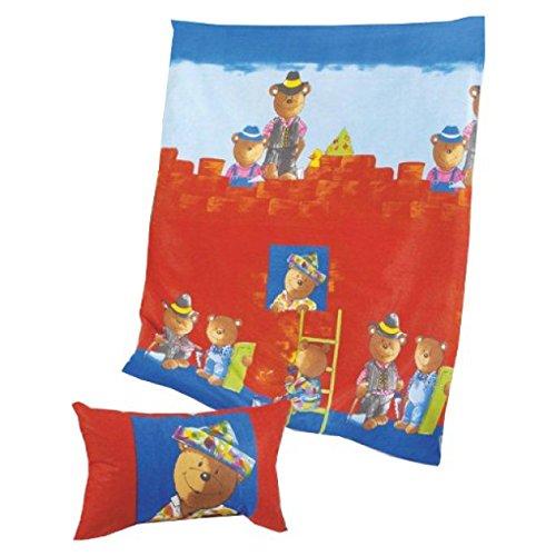 Pötter bärenparade-parure de lit pour enfant housse de couette 100 x 135 cm