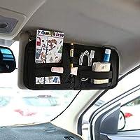 Multifunctional Car Sun Visor Tissue Box CD Clip Type Auto Tissue Box Car Styling Automobile interior accessories 002383