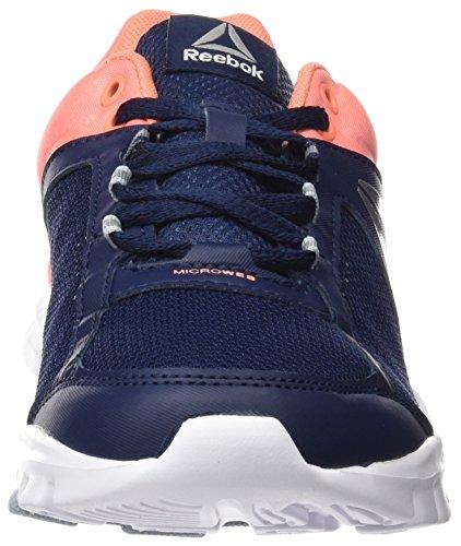 Reebok Yourflex Trainette 9.0 Mt, Sneaker Bas du Cou Femme Bleu (Collegi Nvy/stllar Pnk/wht/silver/grey)
