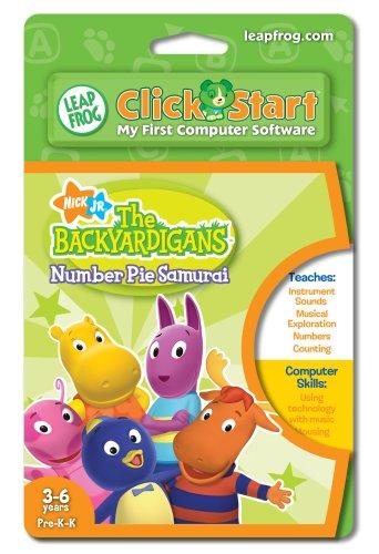 Leap Frog 22657 ClickStart Backyardigans-Nummer Pie Samurai