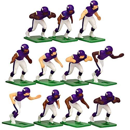 Minnesota Vikings?Dark Uniform NFL Action Figure Set by Tudor Games