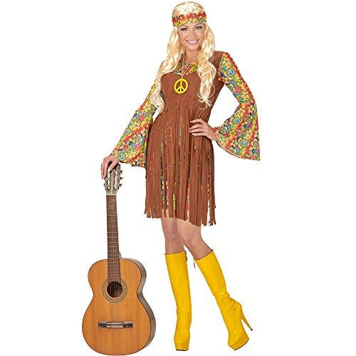Imagen de disfraz de hippie paz para mujer alternativa