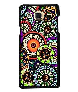 Fuson Designer Back Case Cover for Samsung Galaxy J3 (6) 2016 :: Samsung Galaxy J3 2016 Duos :: Samsung Galaxy J3 2016 J320F J320A J320P J3109 J320M J320Y (floral design aries zodiac sign )