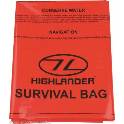 Highlander Double Survival Bivi Bag Mens