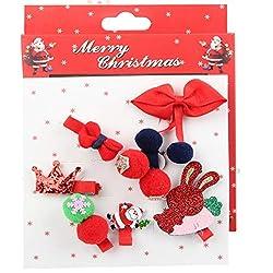 7pcs Rojo Reno de Navidad...