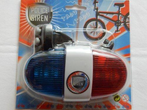 Polizei Fahrrad Sirene mit Licht