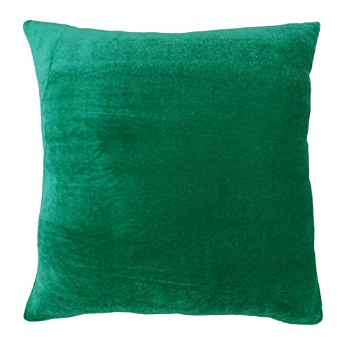 16in Dekorative Kissen (Dekorative Kissenbezug grün Hauptdécor Wurfkissen- Samtetui - Grösse wählen)
