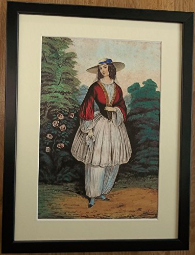 Bloomers Kostüm - Generic The Bloomer Kostüm, gerahmt, 30,5 x 40,6 cm