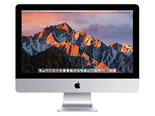 Apple iMac MK142D/A 54,6 cm (21,5 Zoll) Desktop-PC (Intel Core i5 5250U, 8GB RAM, 1TB HDD, Intel HD Graphics 6000, Mac OS)
