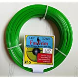 FASTRIM 3.2 mm (0.12inch) 45 m Square/Green/Grass Cutter/Nylon Trimmer line