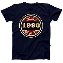 Seattle Grunge 1990 T-Shirt 100% Baumwolle