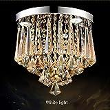 Lampe Restaurant-Leuchter-moderner einzelner Kopf-goldene Nachttisch-Leuchter-Beleuchtung - Bekleidungsgeschauml;ft-Beleuchtung (Farbe : Weiszlig;es Licht)
