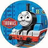 Thomas und seine Freunde Runde Druck Bild auf A4