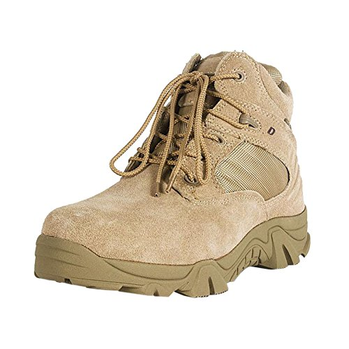 Preisvergleich Produktbild Meijunter Kurzschaft Stiefel Einsatzstiefel Tactical Boot Trekking-Schuh Wanderschuh Bergschuh Outdoorschuh