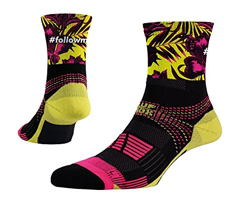 luf-performance-unit-air-pink-flowers-socks