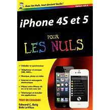 iPhone 4S et 5, ed iOS 6 Poche Pour les Nuls