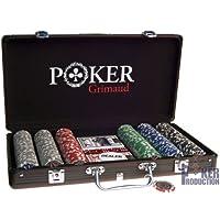 Mallette noire Poker Grimaud : 300 jetons