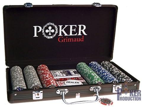 Mallette noire Poker Grimaud : 300