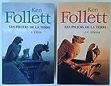 LES PILIERS DE LA TERRE en 2 volumes. Tome 1 - Ellen; Tome 2 : Aliena (Le Grand Livre du Mois) - Stock - 01/01/2008