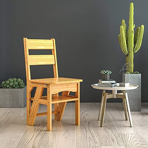 Geyao Esszimmerstuhl Massivholz Moderner minimalistischer Stuhl Erwachsenenheim Schreibtisch Stuhl Nordic Esszimmerstuhl Klappstuhl 435 × 370 × 750mm (Color : White)