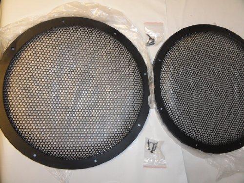 Lautsprechergrills für Subwoofer/Lautsprecher, hochwertig, 25,4 cm, 1 Paar -