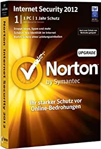Norton Internet Security 2012 - 1 PC - Upgrade (inkl. kostenlosen Upgrade auf Version 2013)