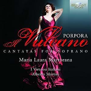 Porpora : Cantates pour Soprano. Martorana, Martini.
