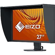 "Eizo ColorEdge CG2730 - Monitor Profesional 27"" (Panel IPS Resolución 2560 x 1440, DVI-D x 1, HDMI x 1, DisplayPort x 1, calibrador integrado, visera incluida), Negro"
