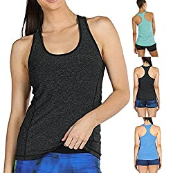 Wawer Women's Sports Vest Tops, Summer Sleeveless Yoga Activewear Running Workouts Tank,Racerback Backless Blouse Tee T-Shirt for/Daily/Party/Daily/Beach,S-XL from Wawer
