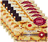 More Combo - Karachi Bakery Fruit Biscuits, 400g (Pack of 6) Promo Pack