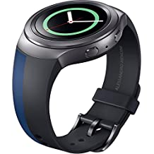 Samsung ET-SRR72MLEGWW - Correa para smartwatch Samsung Gear S2 Sport, diseño Mendini, color azul y negro