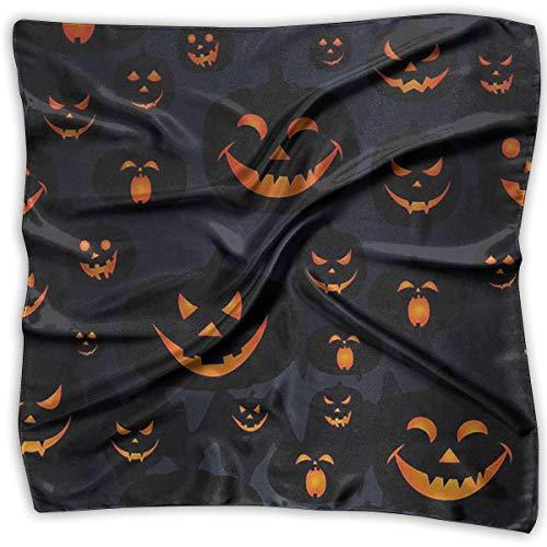 Voxpkrs Taschentücher Schal Halloween Jack O Lantern Neuheit Schal Bandanas Multifunktions Party Geschenke