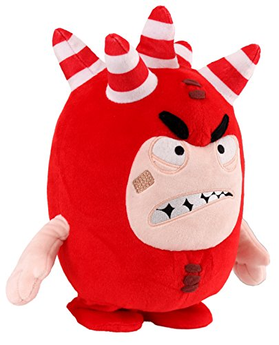 Oddbods Voice Activated Interactive Fuse Soft Toy, 28cm