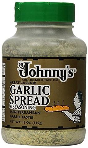 Johnny's Garlic Spread and Seasoning