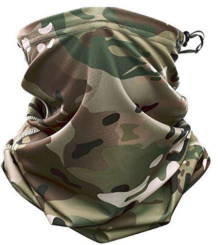 Field Sports Online Multicam camouflage coulisse copricollo sciarpa scaldacollo maschera Airsoft Paintball UK