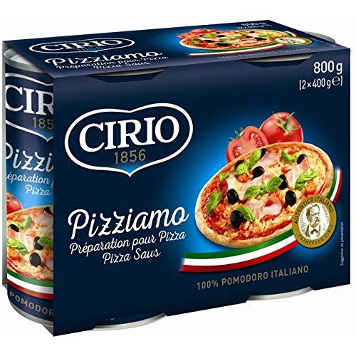 Cirio - Pizziamo Trim Für Pizza 800G - Packung mit 4