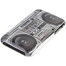 gada - Handyhülle für Apple iPhone 3GS 3G 3 Schutzhülle Hardcase im stylischen Design - Kassettenrekorder