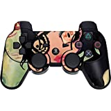 """PS3 Custom Modded Controller """"Exclusive Design- Sirena pirata Sony """" Destiny, GHOSTS Zombie Auto Aim, Drop Shot, Fast Reload & MORE"""