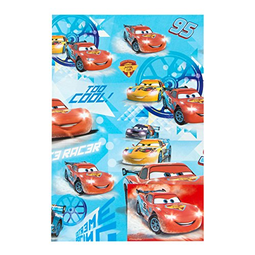 Image of Gemma International Boy Card, Wrap & Tag Disney Cars Too Cool