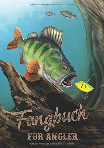 Fangbuch für Angler: Notizbuch für Sportfischer • Meine besten Köder, Fangplätze & Angeltechniken • 110 Seiten • DIN B5 (Design Edition, Band 1) -